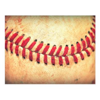 Vintagebaseballboll Vykort