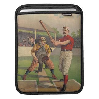 Vintagebaseballipad sleeve