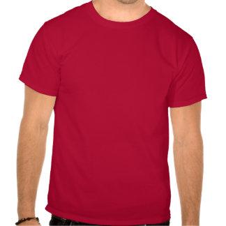 Vintagebehållalugn och bär på t-skjortan t-shirt