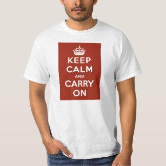 Vintagebehållalugn och bär på WWII-propaganda T Shirts