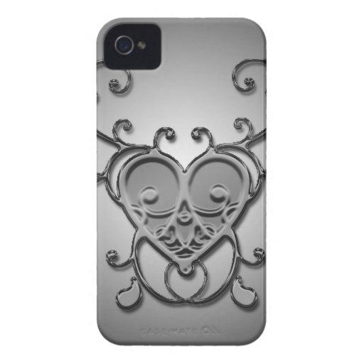 Vintageblackberry boldfodral Case-Mate iPhone 4 skydd