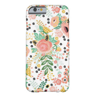 Vintageblommigtiphone case barely there iPhone 6 fodral