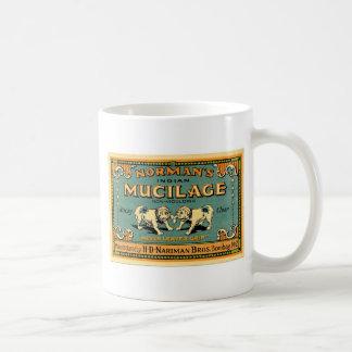 Vintagebulldoggen tejpar annonseringen kaffemugg