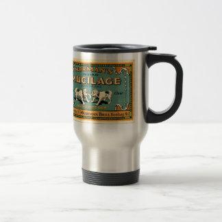 Vintagebulldoggen tejpar annonseringen resemugg
