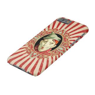 Vintagecirkusclown och bedrövad randPatter Barely There iPhone 6 Skal