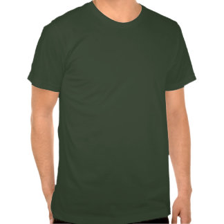 VintageCitroen 2CV grönt T Shirt