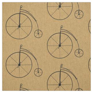 Vintagecykelmönster Tyg