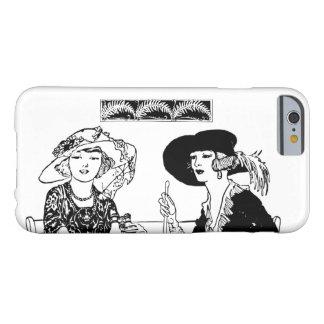Vintagedamer med Retro stilfull mode för hattar Barely There iPhone 6 Fodral