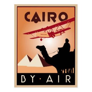 Vintageegyptenen reser art déco vykort