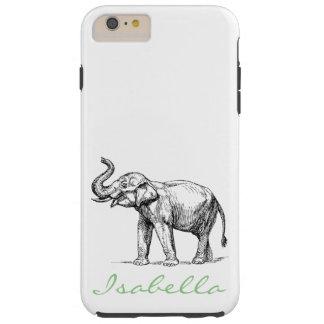 Vintageelefanten tillfogar dina kända tough iPhone 6 plus fodral