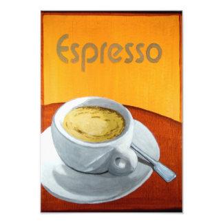 Vintageespressokaffe Konstfoto