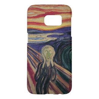VintageExpressionism, skriet av Edvard Munch Galaxy S5 Skal