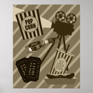 Vintagefilmbiografaffisch