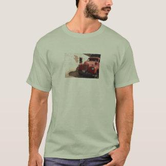 Vintagefiretrucktshirt Tröjor