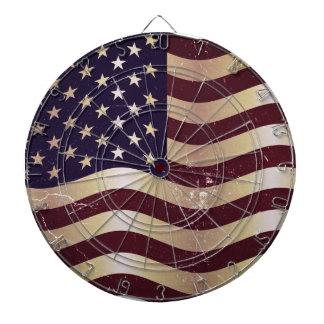 Vintageflagga United States 2 Darttavla
