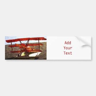 Vintageflygplan av Shirley Taylor Bildekal