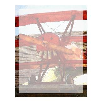 Vintageflygplan av Shirley Taylor Brevhuvud