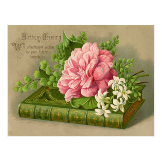 Vintagefödelsedaghälsningen önskar den flott vykort