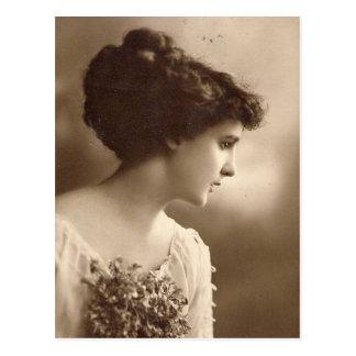 vintagefotodamer vykort