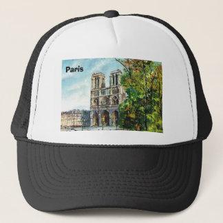 Vintagefrankriken, Notre Dame de Paris Truckerkeps