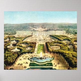 Vintagefrankriken Palais de Versailles Print