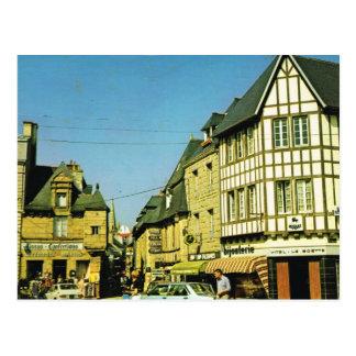 Vintagefrankriken, Pampol, Cotes du Nord Vykort