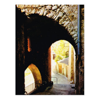 Vintagefrankriken, Sisteron, Provence-Alpes Vykort