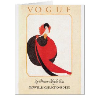 Vintagefransk täcker konst1900s jumbo kort