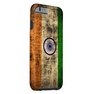 VintageGrungeflagga av Indien Tough iPhone 6 Fodral