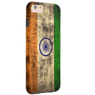 VintageGrungeflagga av Indien Tough iPhone 6 Plus Fodral