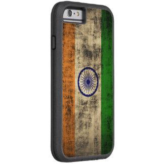 VintageGrungeflagga av Indien Tough Xtreme iPhone 6 Fodral