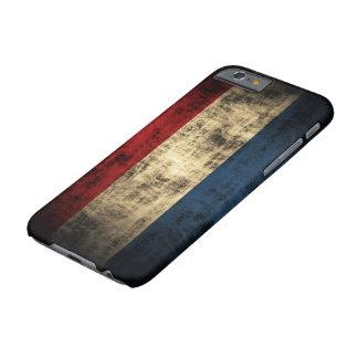 VintageGrungeflagga av Nederländerna Barely There iPhone 6 Skal