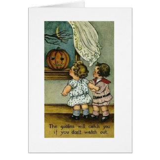 VintageHalloween kort