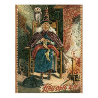 VintageHalloween vykort