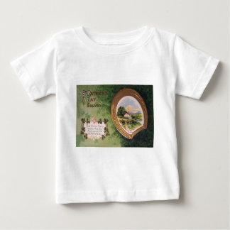 Vintageharpa av den Erin hästskost patrick's day Tee Shirt