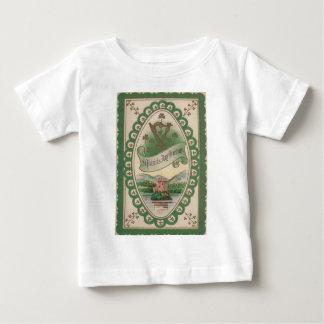 Vintageharpa av det Erin st patrick's daykortet Tee Shirt
