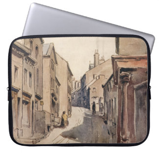 VintageHaworth väster - yorkshire England Bronte Laptop Sleeve