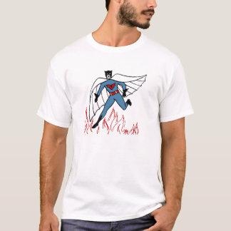 Vintagehjälteskjorta T-shirt