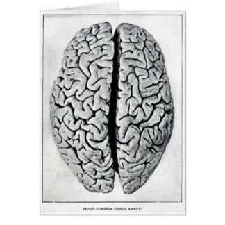 Vintagehjärnkort Hälsningskort