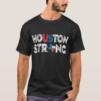 VintageHouston stark Texas T-tröja Tee Shirts