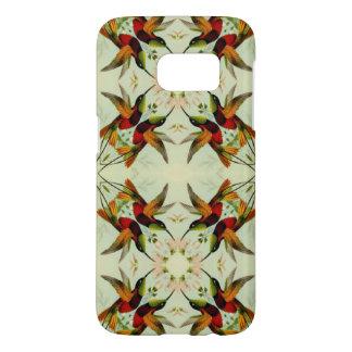 VintageillustrationHummingbirds och blommor Galaxy S5 Skal