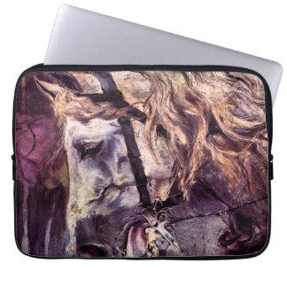 VintageImpressionism, huvud av en häst vid Boldini Laptop Fodral
