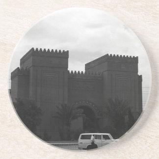 VintageIrak Baghdad museum 1970 Underlägg