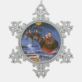 Vintagejul, jultomten julgranskulor