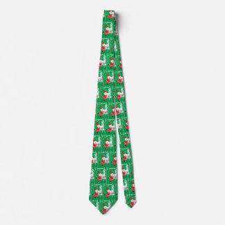 Vintagejul, jultomten som sjunger och dansar slips