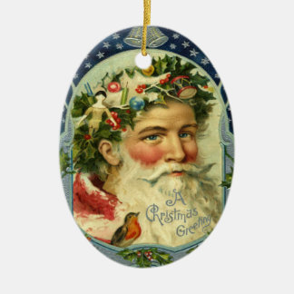 Vintagejultomtenprydnad Juldekoration