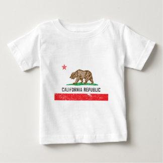 VintageKalifornien flagga Tshirts