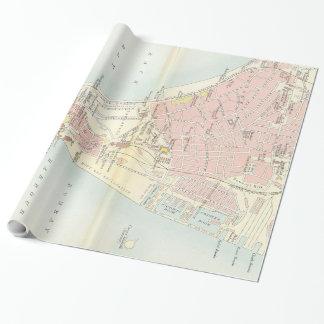 Vintagekarta av Bombay Indien (1893) Presentpapper