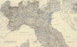 Karta Nord Italien.Karta Av Italien Kuddar Zazzle Se