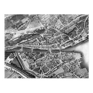 Vintagekarta av Zurich Schweitz (1850) Vykort